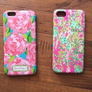 Bundle of 2 Lilly Pulitzer iPhone 6 cases